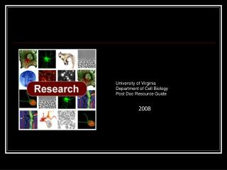 university of virginia department of cell biology post doc resource guide
