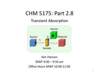 CHM 5175: Part 2.8