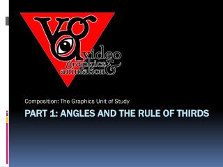 Part 1: angles and the rule of thirds