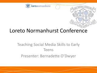 Loreto Normanhurst Conference