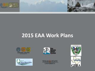 2015 EAA Work Plans