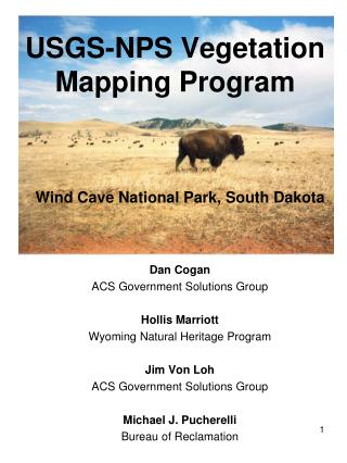 USGS-NPS Vegetation Mapping Program