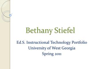 Bethany  Stiefel