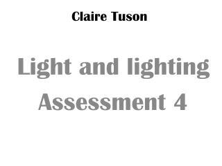 Claire  Tuson