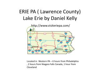 ERIE PA ( Lawrence County)   Lake Erie by Daniel Kelly  http://www.visiteriepa.com/