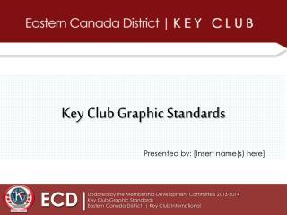 Key Club Graphic Standards