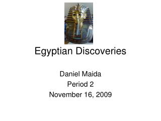 Egyptian Discoveries