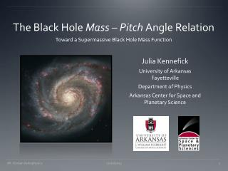 The Black Hole  Mass – Pitch  Angle Relation
