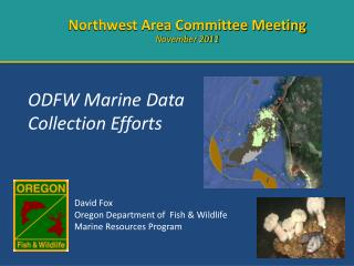 ODFW Marine Data Collection Efforts