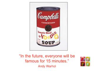 Andy Warhol Example