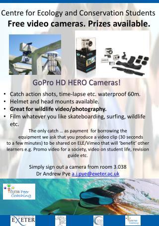 GoPro HD HERO Cameras!