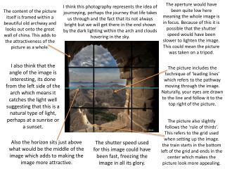 Also the horizon sits just above what would be the middle of the image which adds to making the image more attractive.