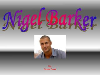 Nigel Barker