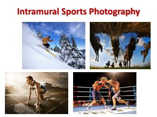 Intramural Sports Photography