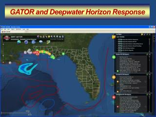 GATOR and Deepwater Horizon Response
