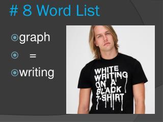 # 8 Word List