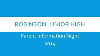 Robinson Junior High