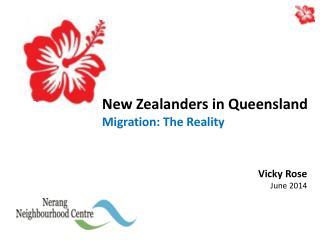 New Zealanders in Queensland