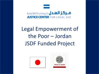 Legal Empowerment of the Poor – Jordan JSDF Funded Project