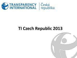 TI Czech  R epublic 2013