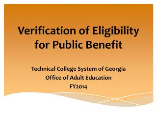 Benefits derived from adult education
