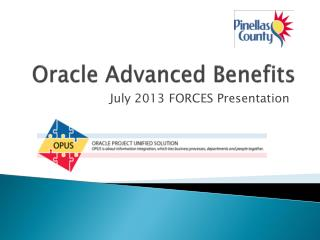 Oracle Advanced Benefits