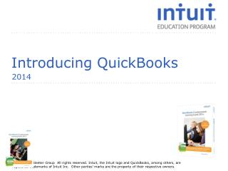 Introducing QuickBooks