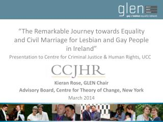 """The Remarkable Journey towards Equality and Civil Marriage for Lesbian and Gay People in Ireland"""