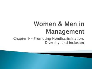 Women & Men in Management