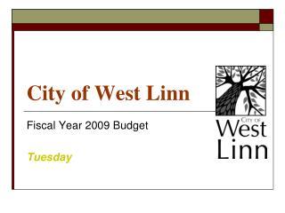 City of West Linn