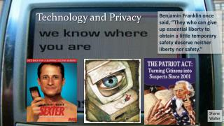 Technology and Privacy