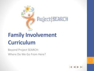 Family Involvement Curriculum
