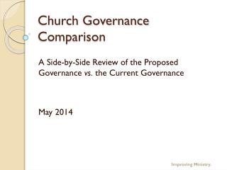 Church Governance Comparison