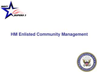 HM Enlisted Community Management