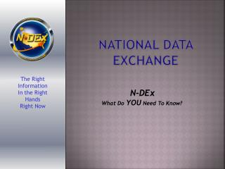 National Data Exchange