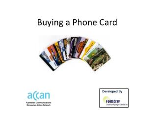 Buying a Phone Card