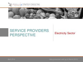 SERVICE PROVIDERS PERSPECTIVE