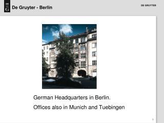 De Gruyter - Berlin