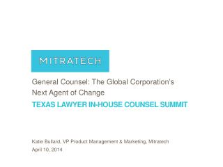 Texas Lawyer In-House Counsel Summit
