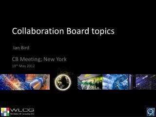 Collaboration Board topics
