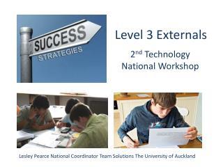Level 3 Externals