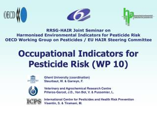 occupational indicators for pesticide risk wp 10