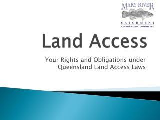 Land Access