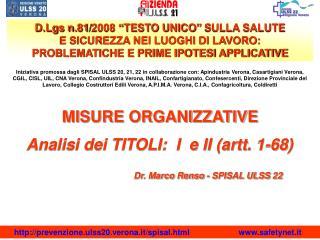 art. 30 - modelli organizzativi