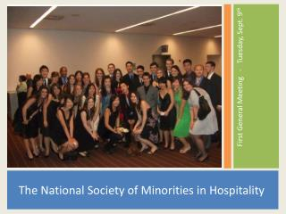 The National Society of Minorities in Hospitality
