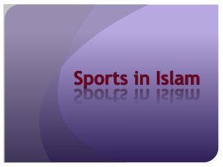 Sports in Islam