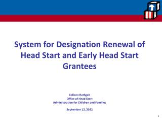 Designation Renewal System