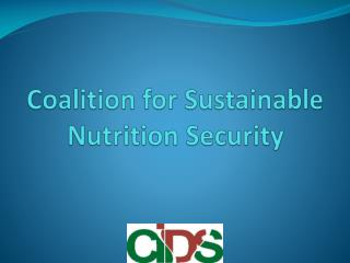 Coalition for Sustainable Nutrition Security