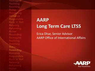 AARP Long Term Care LTSS