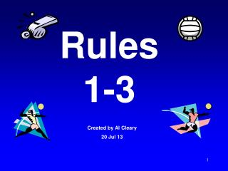 Rules 1-3
